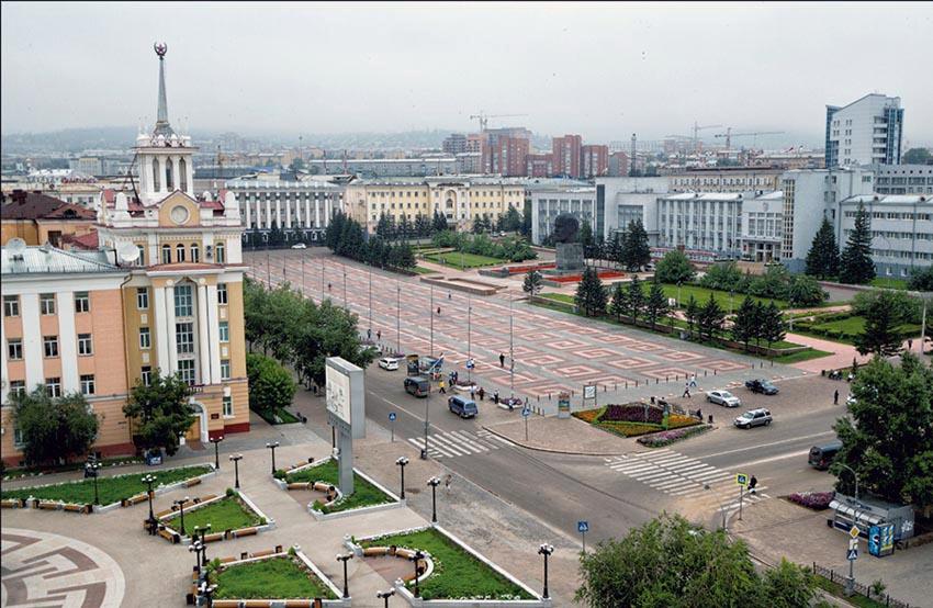 Улан-Удэ. Площадь Советов.