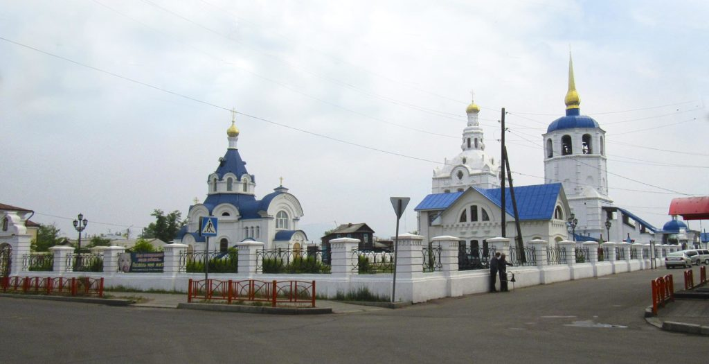 Улан-Удэ. Свято-Одигитриевский собор.