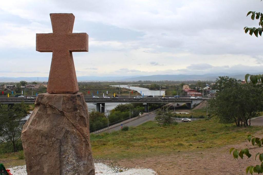 Улан-Удэ. Памятный крест. Смотровая площадка.