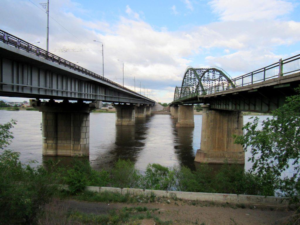 Селенгинский мост. Улан-Удэ.