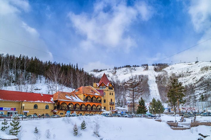 Туры на горнолыжные курорты.  Абзаково
