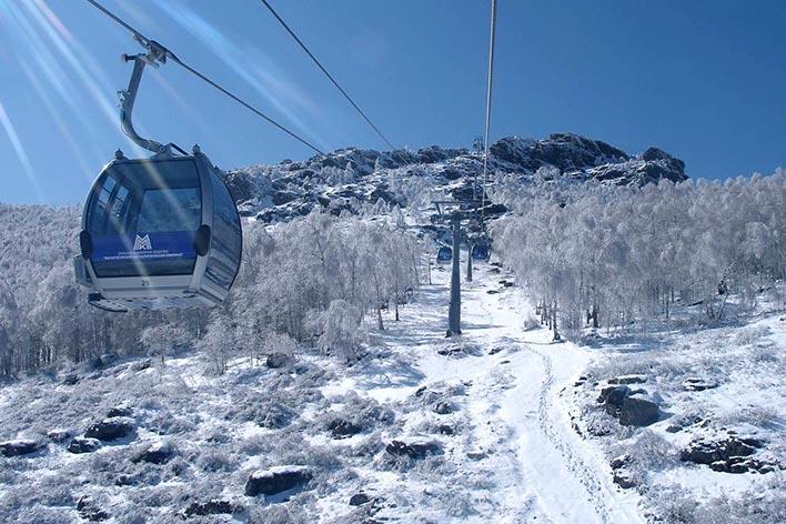 Туры на горнолыжные курорты.  Оз. Банное