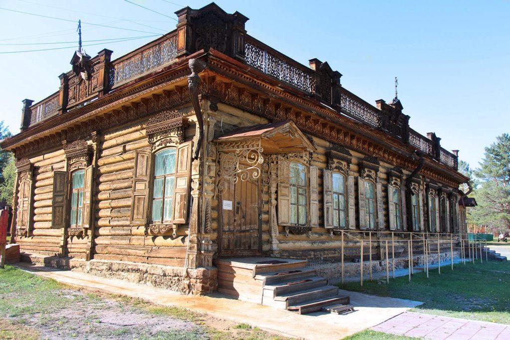 Этнографический музей. Городской комплекс. Дом коридорного типа.