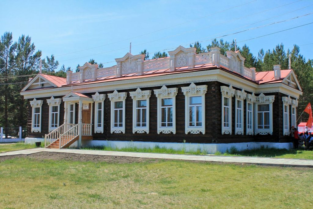 Этнографический музей. Городской комплекс. Дом Танских