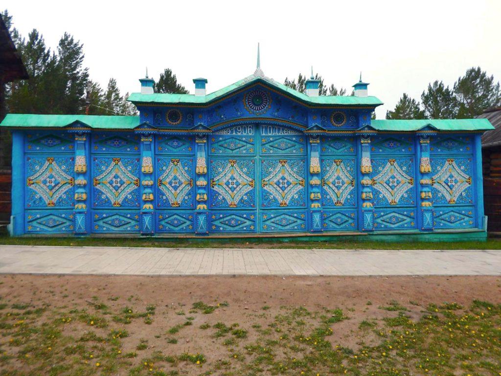Этнографический музей. Русский старообрядческий комплекс. парадные ворота