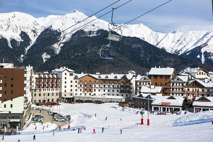 Туры на горнолыжные курорты.
