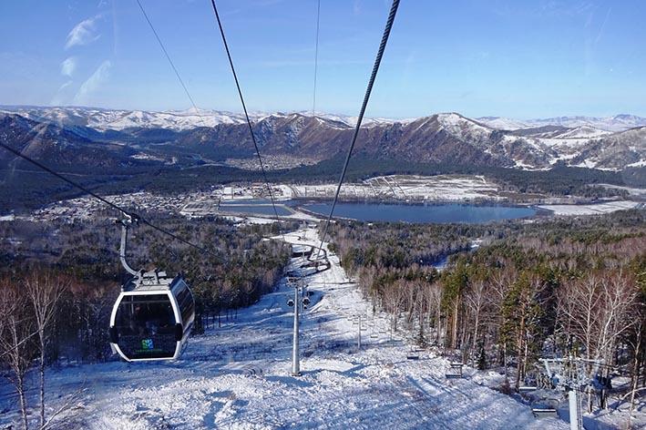 Туры на горнолыжные курорты.  Манжерок