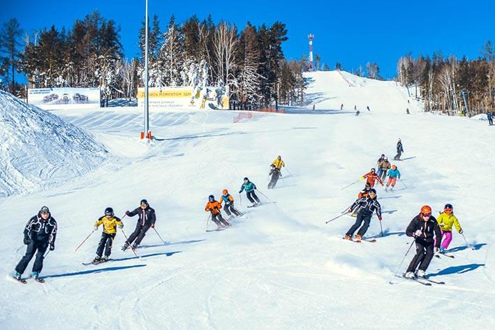Туры на горнолыжные курорты.  Солнечная долина