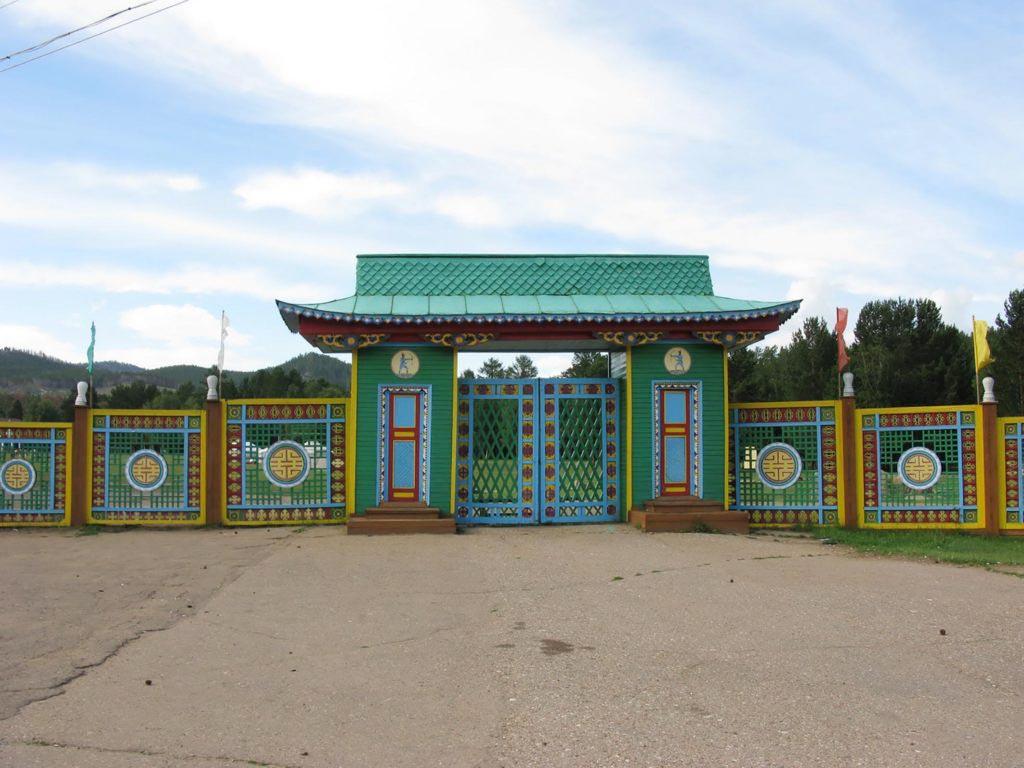 Ворота в Этнографический музей