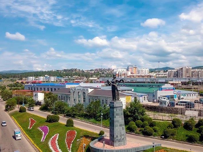 Улан-Удэ. Памятник «Мать Бурятия»