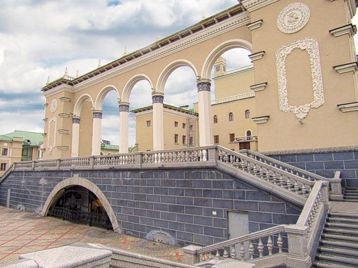 Улан-Удэ. Бурятский Государственный Академический театр Оперы и Балета