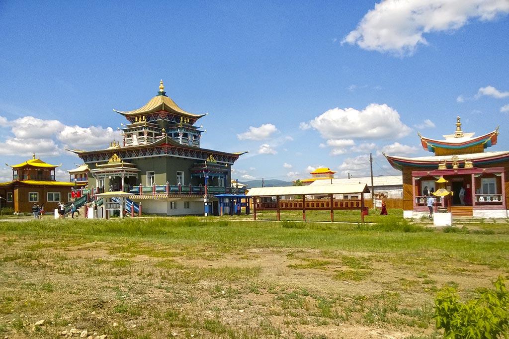 Иволгинский дацан. Храм Зеленой Тары