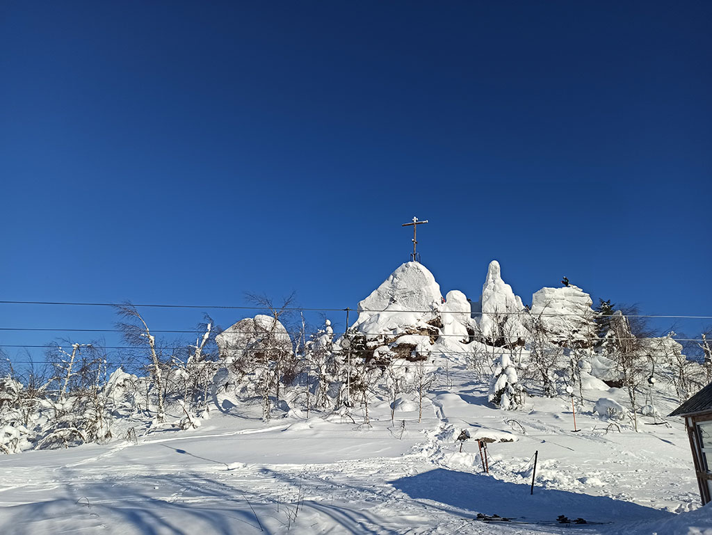Губаха. гора Крестовая
