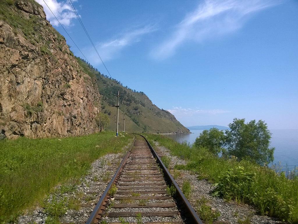 Кругобайкальская железная дорога. Тоннель Мыс Каторжанский