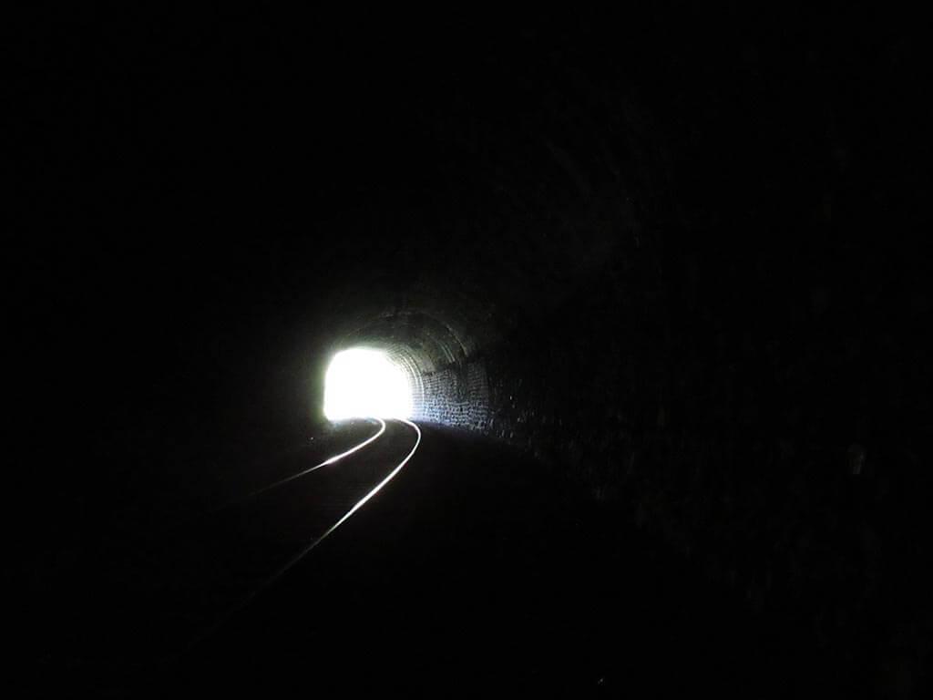 Кругобайкальская железная дорога. Тоннель Мыс Толстый