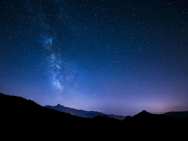 Полюбоваться закатами и звездным небом! Красная поляна