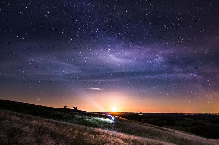Полюбоваться закатами и звездным небом!