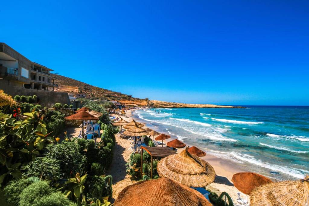 Тёплое море в октябре в Тунисе